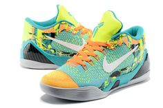 4e4206127061 Kobe 9 Elite Low Influence Sport Turquoise Laser Orange Grey Nike Shoes For  Sale