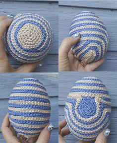 easter egg for crochet dummies