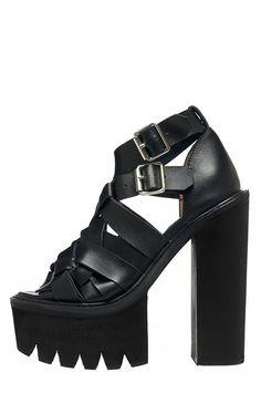 Jeffrey Campbell Shoes PYE Shop All in Black Black