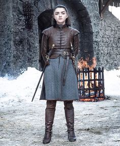 (@gameofthronesnotofficial) on Instagram | Arya Stark costume s7e4