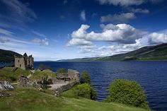 Loch Ness Scotland  Home of The Mythical Loch Ness Monster.
