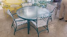 Brown Jordan Vintage Tamiami Dining Set, A Beautiful Mid-Century Set