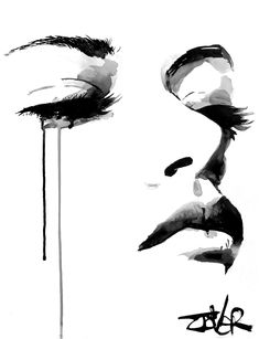 View LOUI JOVER's Artwork on Saatchi Art. Find art for sale at great prices from artists including Paintings, Photography, Sculpture, and Prints by Top Emerging Artists like LOUI JOVER. Watercolor Art, Art Painting, Emotional Art, Face Art, Art, Monochrome Painting, Watercolor Art Face, Portrait Art, Charcoal Art
