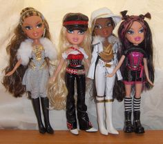 Bratz Girlz Really Rock - 1st outfits | Flickr - Photo Sharing!