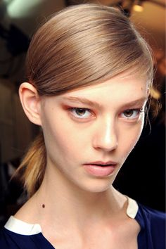 Chloé Spring 2013 Ready-to-Wear Fashion Show Beauty