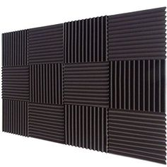 "12 Pack Acoustic Foam Wedge Panels Studio Soundproofing Wall Tiles 1"" X 12"" X 12"", http://www.amazon.com/dp/B00TP7C9YY/ref=cm_sw_r_pi_awdm_x_DSwQxbS1TYC96"