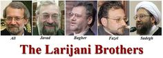 Image result for larijani brothers