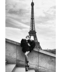 Breathtaking top - both the #lingerie and also the #EiffelTower ... | #SylvieVanDerVaart | Sexy lingerie shoot in Paris | The Dutch photographer duo Petrovsky & Ramone has put Sylvie van der Vaart for the lingerie label #Hunkemöller in scene  | @hunkemoller