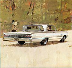 1964 Mercury Montclair 2 Door Hardtop  I have one of these in my garage.