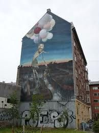 New mural at Odinsgade, Nørrebro by Copenhagen Cruise