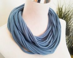 From casual to dressy - this is the perfect accessory for all wardrobes and all seasons.  Infinity scarf is handmade