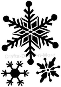 Brass Stencil Snowflakes Embossing Template Winter Snow Christmas Card Making | eBay