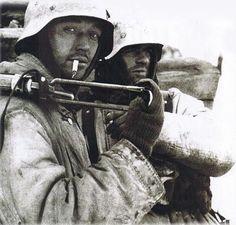 """Two Waffen SS """"Wiking"""" worn member in the Cherkassy kettle 1944"""