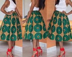 African Clothing African Midi Skirt African Clothing African Print Skirt Ankara Maxi Skirt AnkaraAnkara African Print Skirt African Skirt