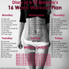Your Post Workout Routine Needs This One Supplement Hate this picture, but a good 16 week workout plan all using body weight