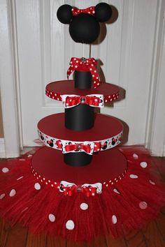 Minnie Mouse Smash Cake Cakes Pinterest Smash Cakes