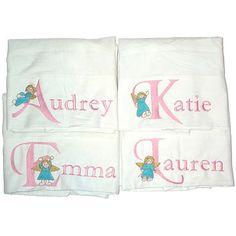 Personalized Angel Pillowcase