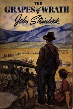 John Steinbeck, The Grapes of Wrath, 1939 | The 22 Most Iconic Book Covers Of AllTime