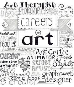 Art Careers Art Print - Melissa Mercilliott Society 6
