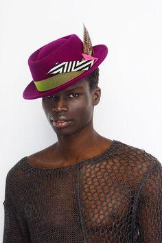 #neonkids #hat #ivaksenevich #colors #millinery #color #felthat