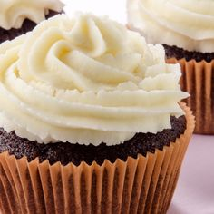 This chocolate chip chocolate cupcake recipe makes a dozen moist flavorful cupcakes.  Topped with vanilla butter cream icing this would be a great dessert choice to take along to a potluck.. Chocolate Chip Chocolate Cupcakes Recipe from Grandmothers Kitchen.