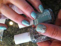 Mint candy apple-Essie Set in stones-Essie