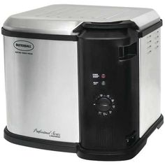 The Butterball Indoor Electric Stainless Steel Fryer is an exceptional kitchen tool addition. Cooking up to 14 lbs. in 4 minutes per pound, this fryer uses less oil than most fryers. Includes an inner pot, cooking basket, and drain clip. Butterball Electric Turkey Fryer, Butterball Fryer, Indoor Turkey Fryer, Qvc Kitchen, Kitchen Decor, Small Appliances, Kitchen Appliances, Cooking Appliances, Chicken
