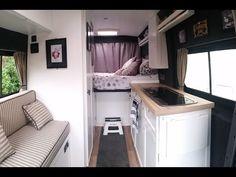 (2) NEW & UPDATED VAN TOUR: Self build Citroen Relay Campervan Conversion Tour! - YouTube