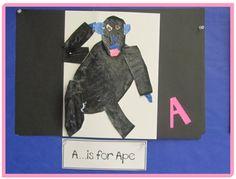KC Kindergarten Times: Eric Carle Alphabet