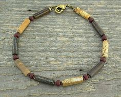 Hey, I found this really awesome Etsy listing at https://www.etsy.com/listing/47988434/stone-anklet-natural-brown-stone-ankle