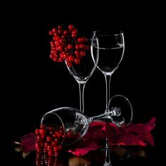 viburnum by Alex Kortez Apple Logo Wallpaper Iphone, Phone Wallpaper Design, Emoji Wallpaper, Pattern Wallpaper, Glass Photography, Light Photography, Creative Photography, Happy New Year Fireworks, Wine Painting