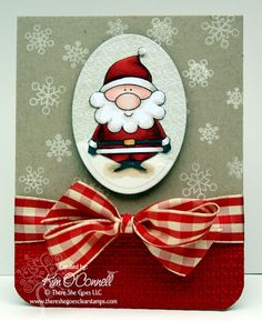 """Paper Perfect Designs by Kim O'Connell: There She Goes Clear Stamps """"Ho Ho Ho"""" stamp set"""