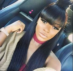 ShopJinglesHair Brazilian Straight Virgin Hair Bundles With Closure Inches Unprocessed Remy Human Hair Natural Color,Wholesale Cheap Price Ponytail Styles, Ponytail Hairstyles, Weave Hairstyles, Straight Hairstyles, Black Hairstyles, Trendy Hairstyles, Weave Ponytail, Gorgeous Hairstyles, Fashion Hairstyles