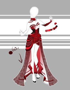 .::Outfit Adoptable 59(OPEN)::. by Scarlett-Knight.deviantart.com on @DeviantArt