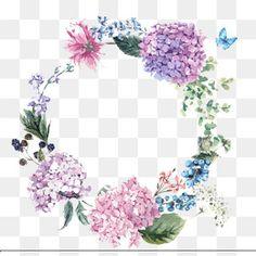 Pintado a mano de Acuarela Flor de diseño, Pintado A Mano De Pintura, Watercolor Flowers, Flores Y Plantas Imagen PNG