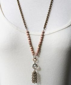 Sheer Addiction Jewelry - Sophie Long necklace