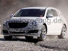 2013 Opel Insignia Sport Tourer Facelift Spy Shots #opel #spyshots #sportstourer