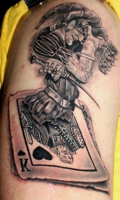 Rey de Copas Tattoo - TWT13