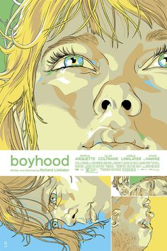Boyhood Poster by Tomer Hanuka from Mondo  (Onsale Info)