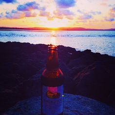 Sunsets and cider, the perfect combination? @dj_kooper