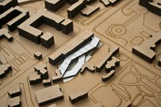 Using a common board not always being a common model,, it can be cool to.. Architectural Model - Museum of Photography