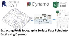 This Revit video tutorial concisely analyzes how to develop Topography out of excel data point in Revit 2017 with Dynamo. Dynamo is an addin for Revit. Dynamo can establish a bidirectional link amid Revit and Excel.