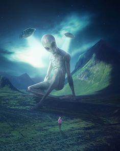 Wallpaper Space, Marvel Wallpaper, Aliens And Ufos, Ancient Aliens, Optical Illusion Gif, Alien Encounters, Alien Aesthetic, Alien Ship, Alien Spaceship