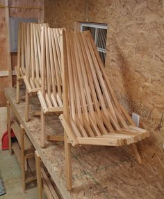Solid Cedar Chair Outdoor Furniture Accent by KentuckyStickChairs