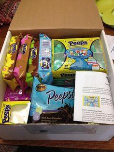 on Peeps! {yep, the candy}