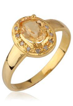 Bling Yellow Ring