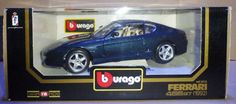 #Burago - die cast - ferrari 456 gt 1992 #black -  #(scale 1/18) cod 3036,  View more on the LINK: 	http://www.zeppy.io/product/gb/2/252620701056/