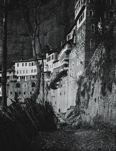 Francis J. Bruguière Street Scene, Europe (hillside homes)  1912