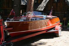Classic Wood Boat For Sale: Chris Craft Racing Runabout