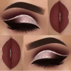 eye makeup is bad makeup classes eye makeup goes with a red lip makeup 2017 step by step makeup under eye makeup night many eye makeup brushes do i need makeup you need Makeup Goals, Makeup Inspo, Makeup Art, Makeup Tips, Makeup Ideas, Makeup Tutorials, Makeup Trends, Maquillage Cut Crease, Maquillage On Fleek